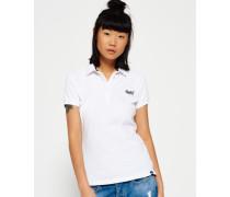 Damen Classic Polo-Shirt weiß