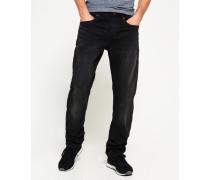 Herren Loose Jeans schwarz
