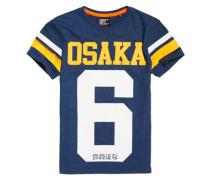 Herren Osaka 6 T-Shirt marineblau