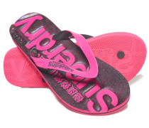 Damen Scuba Flipflops pink