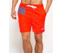 Herren Premium Water Polo Shorts orange