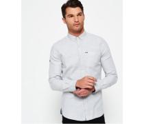 Herren Shoreditch Button-Down-Hemd grau