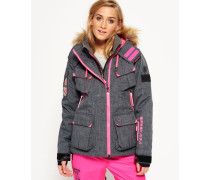 Damen Ultimate Snow Service Jacke grau