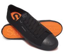 Herren Niedrige Pro Sneaker schwarz
