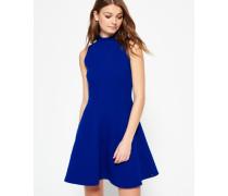Damen Erin Racer Kleid blau