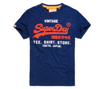 Herren Shirt Shop Duo T-Shirt marineblau