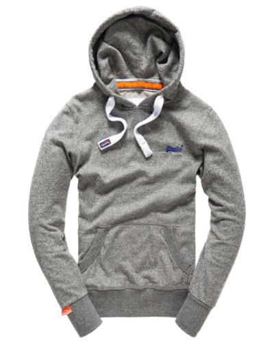 superdry herren superdry herren orange label lite hoodie grau reduziert. Black Bedroom Furniture Sets. Home Design Ideas