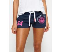 Damen Track & Field Shorts blau