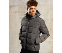 Herren Sports Pufferjacke hellgrau