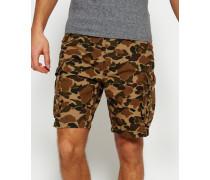 Herren Core Lite Ripstop Cargo Shorts braun