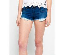 Damen Core Hot Shorts blau