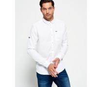 Herren Ultimate Bedford Button-down-Hemd weiß