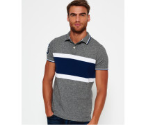 Herren Upstate Polo-Shirt grau