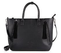 Damen Karah Zipped Handtasche schwarz