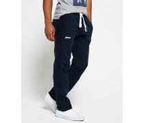 Herren Orange Label Jogginghose ohne Bündchen marineblau