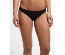 Damen Bandeau-Bikinihöschen Santorini schwarz
