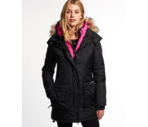 Damen Arctic Black Ice Edition Daunenjacke schwarz