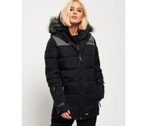 Damen Alpine Attitude Jacke schwarz