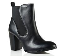 Damen Fleur Heel Chelsea Boots schwarz