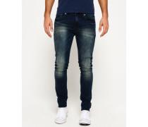 Herren Skinny Jeans dunkelblau