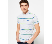 Herren Echo Beach YD Stripe Polo-Shirt grau