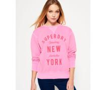 Damen City Sweatshirt pink