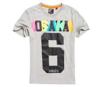 Herren Osaka 6 Hyper T-Shirt hellgrau