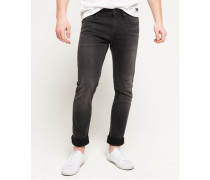 Herren Slim Jeans schwarz