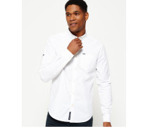 Herren Ultimate Oxford-Hemd weiß