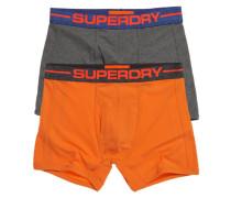Herren Sports Boxers im 2er-Pack orange