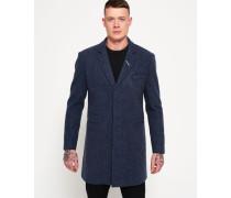 Herren Leading London Mantel blau