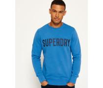 Herren Solo Sport Sweatshirt mit Rundhalsausschnitt blau