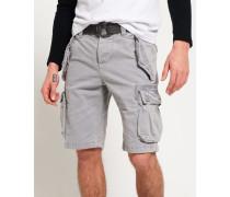 Herren Core Heavy Cargo-Shorts hellgrau