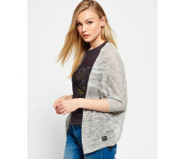 Damen Nevada Springs Slub Cardigan grau