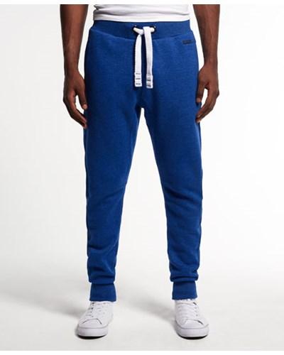 superdry herren superdry herren runner jogginghose blau. Black Bedroom Furniture Sets. Home Design Ideas