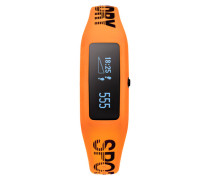 Herren Fitness-Tracker orange