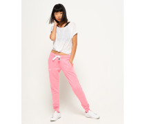 Damen Orange Label Slim Jogginghose pink