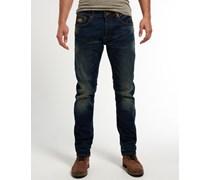 Herren Lässige Copperfill Jeans marineblau