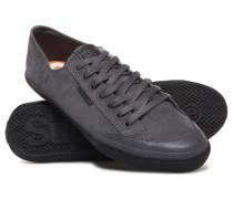 Herren Niedrige Pro Luxe Sneaker dunkelgrau