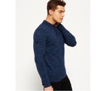Herren Orange Label Knit Polo-Shirt blau