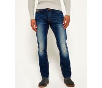 Herren Officer Jeans blau