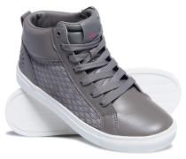 Damen Ava High Top Sneaker hellgrau