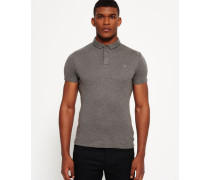 Herren Idris International Polo-Shirt grau