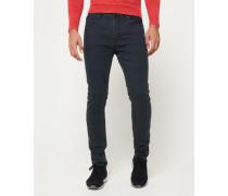 Herren Slim Low Rider Jeans schwarz