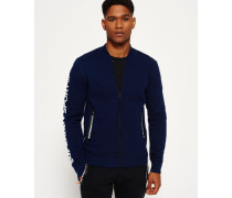 Herren Gym Tech Bomberjacke marineblau