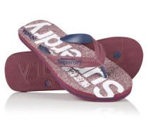 Damen Scuba Flip Flops rot