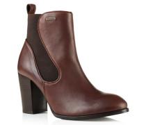 Damen Fleur Heel Chelsea Boots braun