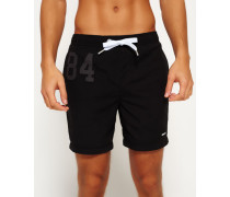 Herren Premium Water Polo Shorts schwarz