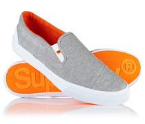 Herren Mono Sneaker zum Hineinschlüpfen hellgrau