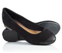 Damen Ballerinas Super Ballett schwarz